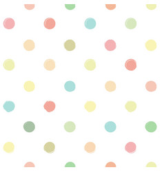 seamless pattern from pastel shades yellow vector image