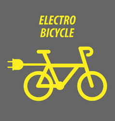 Sport bicycle bike style icon vector