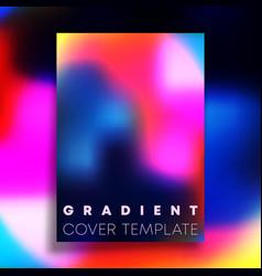 vivid gradient texture background design vector image