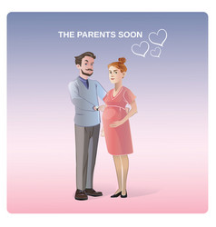 future parents concept vector image vector image