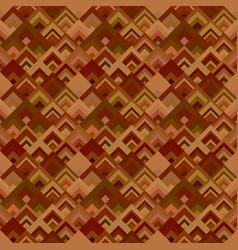 brown seamless diagonal shape mosaic tile pattern vector image