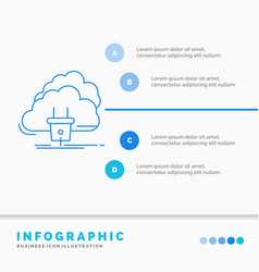 Cloud connection energy network power vector