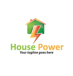 House Power Logo vector image