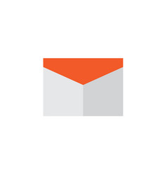 Mail flat icon symbol premium quality isolated vector