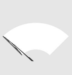windscreen check wiper vector image