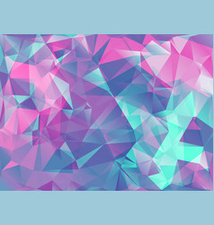 abstract modern background with triangles in vector image