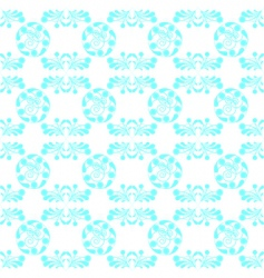 blue seamless vector image vector image