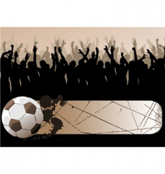 ball with frame vector image vector image