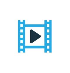cinema colorful icon symbol premium quality vector image vector image