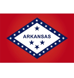arkansas flag vector image
