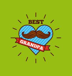 best grandpa design vector image