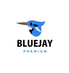 bluejay flat logo icon vector image
