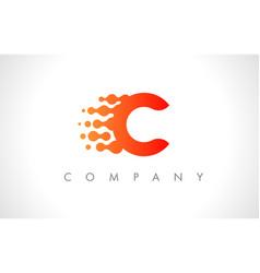 C logo c letter icon design vector