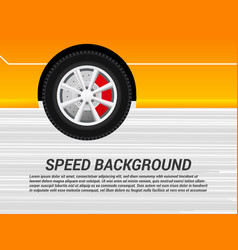 colorful speed motion background vector image