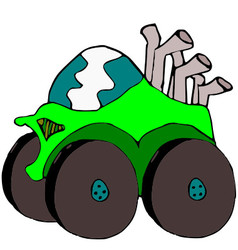 Monstertruck vector