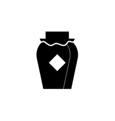 new year china baijiu icon can be used for web vector image