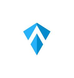 Shield letter a logo icon design vector
