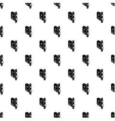 standard door lock pattern seamless vector image