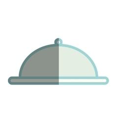 tray server flat icon vector image