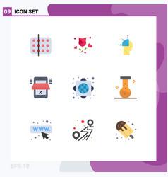 Universal icon symbols group 9 modern flat vector
