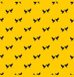 wedding doves pattern vector image