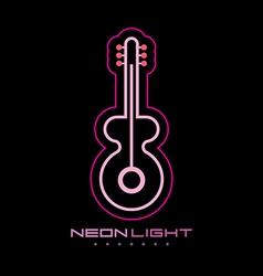 Neon light vector