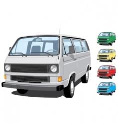 mini van vector image