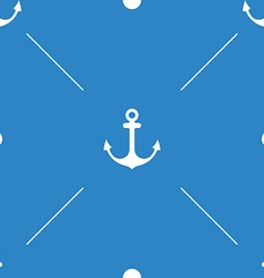 Anchor Seamless Pattern flat design vector image