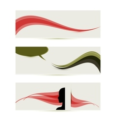 banner templates vector image