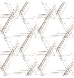 Beige grunge pyramids on a white background vector