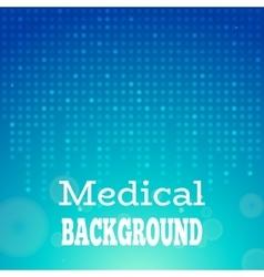 Blue medical background vector