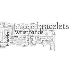 Bracelets vector