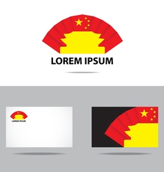china company logo vector image