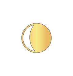 lunation computer symbol vector image