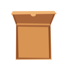 open pizza box delivery vector image vector image