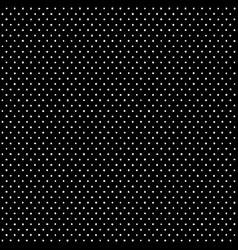 black and white polka dots pattern vector image