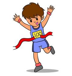Character of kid winner run vector
