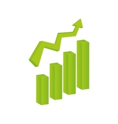 Growth up statistics vector