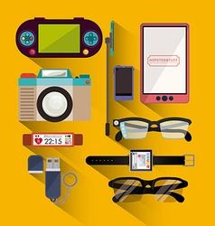 Hipster design vector image