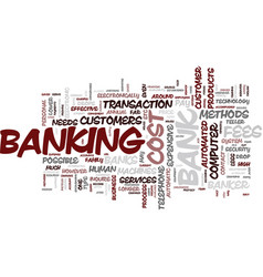 Learn how to bank like a banker text background vector