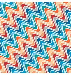 Pattern of Waves of Different Colors vector