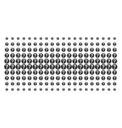 Query shape halftone grid vector
