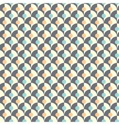 Seamless simple retro geometrical pattern of vector image