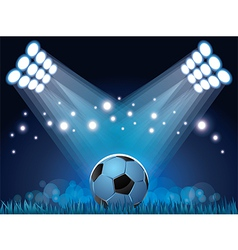 Stadium ball vector