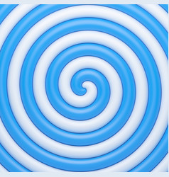 Abstract blue candy spiral background vector