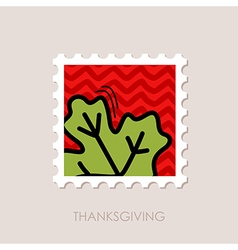 Autumn Leaves maple stamp vector