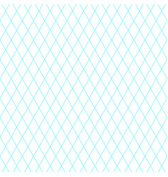 background with blue diagonal grid vector image