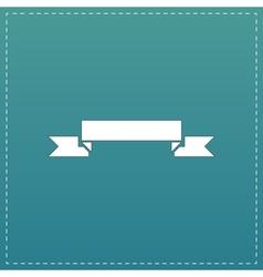 Banner flat icon vector