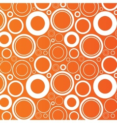 Circles background Abstract round objects vector image
