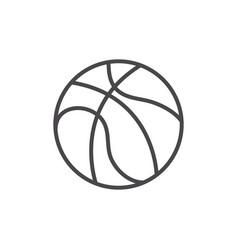 Isolated ball basketball design vector